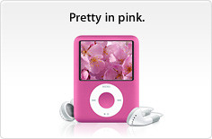 3g Ipod Nano now in Pink