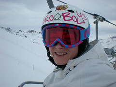 Me on a chairlift