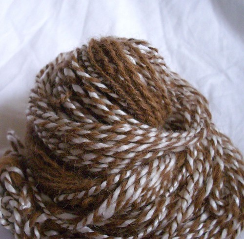 Dwight & Angela - Handspun yarn - Month of Love Series