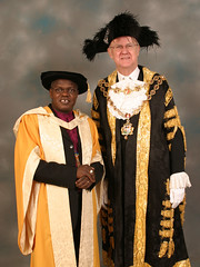 Dr John Sentamu receives his honorary doctorate