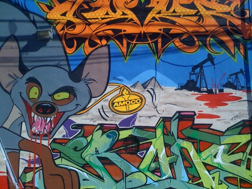 Mural off Melrose