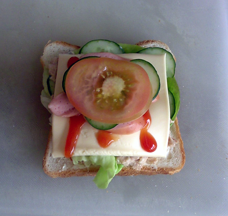 sandwich-in-progress