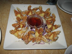 The Cheesecake Factory: Crispy crab wontons