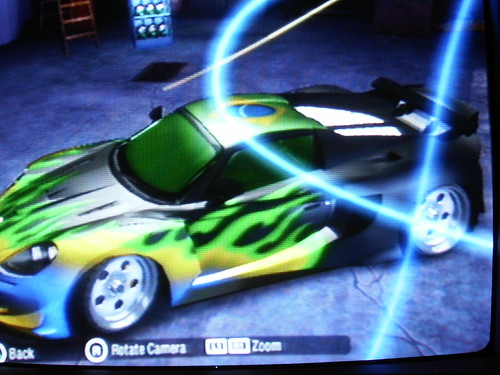my car in Need for speed Carbon - PS2 by Eva Angel
