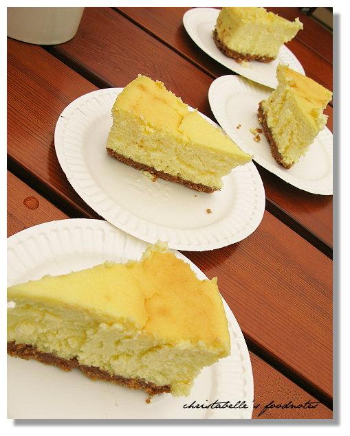 阿餅的檸檬起司蛋糕