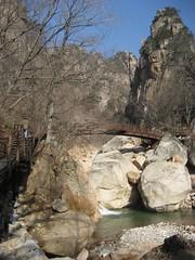 Arched Bridge at South Sorak Mountain