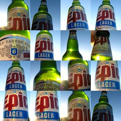 Epic Lager - Beer Collage