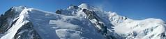 le Mont Blanc (Olivier Roux) Tags: panorama montagne chamonix montblanc olivierroux summitmtblanc altitude4820 otolithe