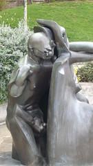 Glory Hole sculpture in Paris (Ted Drake) Tags: paris spring voyeur april avril printemps outdoorsex paris2008 1styearparis
