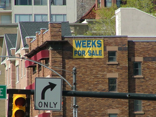 Weeks for sale
