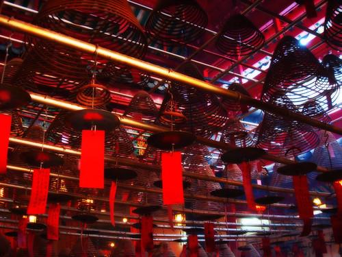 Incense Coils, Man Mo Temple, Hong Kong