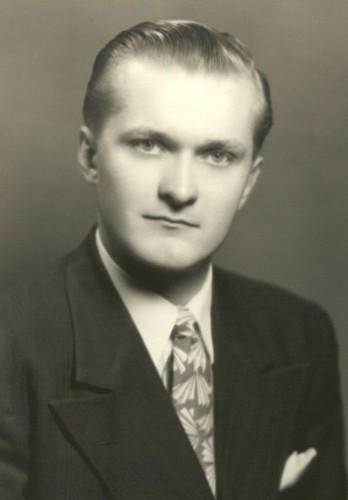 Dad K's College Graduation 1947