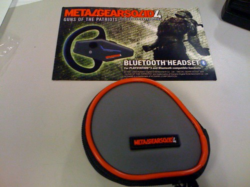 Metal Gear Solid Bluetooth Headset