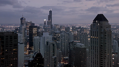 Chicago Skyline (90 seconds) (doug.siefken) Tags: city urban chicago motion art skyline architecture night painting geotagged photo moving timelapse video still artwork long flickr downtown cityscape foto arty slow image dusk searstower doug cities favorites content images fluid uptown photograph r fotos ambient change slomo form trumptower douglas ultra stills urbanscape streeterville chicagoskyline urbanscapes nontraditional emergent citscapes chicagoan imperceptible siefken clipcity bestvideosflickr subthreshold translumen dougsiefken douglasrsiefken fluidstill ambientvideo ambientvideoart stillism
