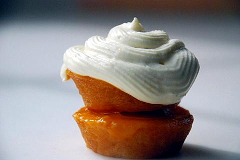 NewMango cupcake