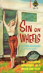 Sin On Wheels (Biff Bang Pow) Tags: vintage retro paperback sin pulp trailertrash pbo