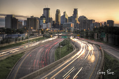 Minneapolis Sunrise (Greg Benz Photography) Tags: sunset minnesota architecture sunrise photography midwest traffic stpaul minneapolis rushhour wellsfargo twincities mn hdr idstower downtownminneapolis yellowsky traffictrail minneapolisskyline hdrtechnique i35w minneapolisart minneapolissunset anawesomeshot minneapolisbridge urbanminneapolis twincitiessunset bestplacetolive minneapolisbuildings autopostr carbonsilver urbanhdr gregbenz photosofminneapolis twincitiesskyline twincitieshdr minneapolisskylinephotos downtownminneapolisphotos minneapolishdr minnesotahdr minneapolissunrise twincitiesphotos minneapolisphoto twincitiesart 225ssixth stunningphotogpin