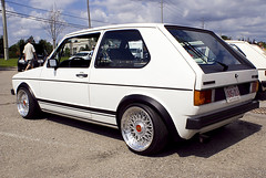 Vagkraft 2008 - 252 - White VW Rabbit GTI MK1 Euro