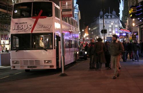 Jesus Army: London by night
