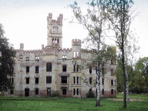 zamek Cesky Rudolec schloss Boehmisch Rudoletz | 2012-08