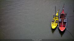 Porto Boats... (​j૯αท ʍ૮ℓαท૯) Tags: porto boats yellow red two colors waterscape