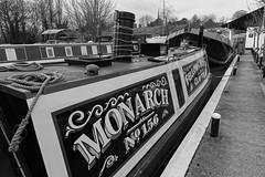 Monarch, steam powered Narrowboat built in 1908 (mattgilmartin) Tags: steam narrowboat canal history fellows morton claydon