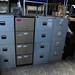 4 Drwr filing cabinets E60-80