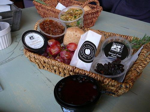 Lunch at Maggie Beer's Farm Shop