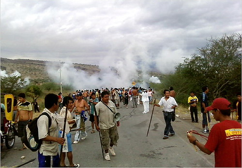 Indigenous Protesters in Peru