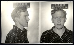 Gerald A Schooley (angus mcdiarmid) Tags: newcastle 1940 crime mugshot burglary arson 19yearsold 5july1940