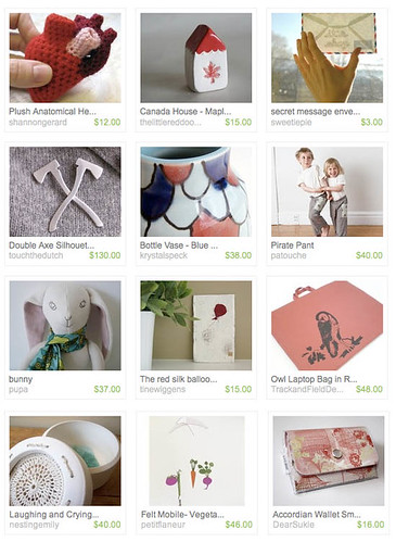 Canada Day Etsy Feature