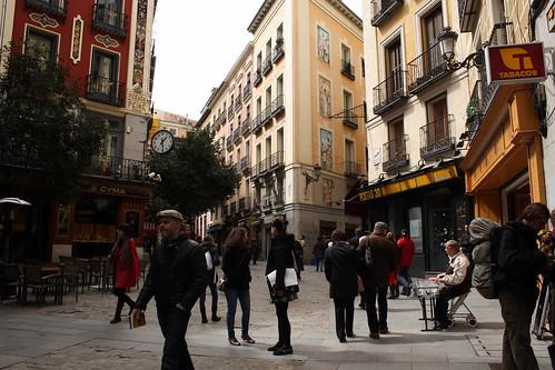 Una calle en Madrid