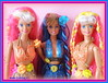 Hula Hair Teresa and Barbie (vikk007) Tags: doll barbie teresa mattel hulahair hulahairteresaandbarbie