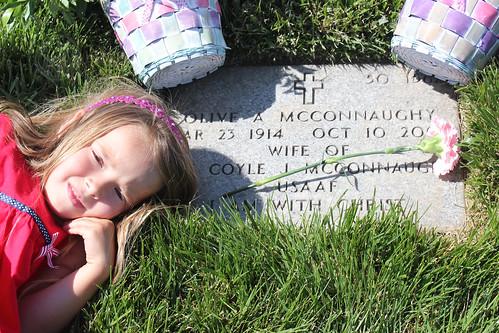 Grandma's grave
