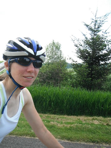 Katie Biking