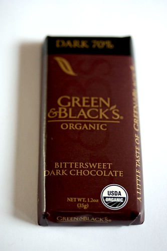 Green & Black's Organic Dark 70% bar