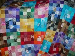 DSCN2918 (Auntie_Doris) Tags: quilt multicoloured patchwork