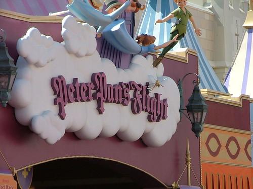walt disney world orlando florida. Walt Disney World Orlando Florida theme park and rides Fantasyland Peter Pan