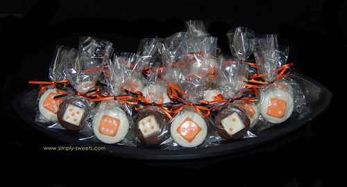 Halloween bunco favors