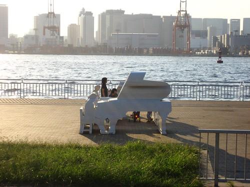 Piano Sillhouette