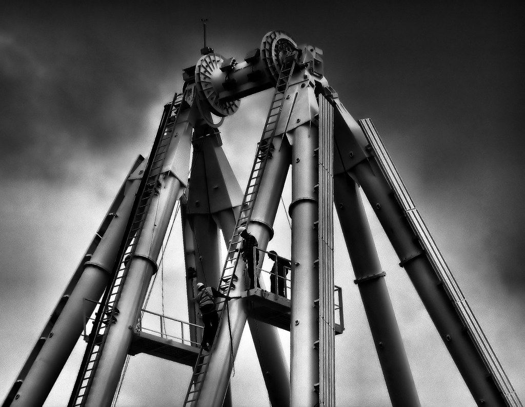 Belfast Wheel Under Construction
