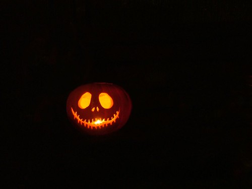 Jack Skellington Pumpkin by Jooliree.