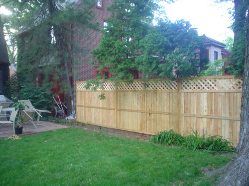 Fence from neighbors