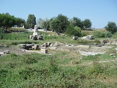 View across the site of the Temple of Artemis. (Wonders _) Tags: ancienthistory ancientcivilization archeology greekmythology ancientgreece greekgods templeofartemis ancientworld sevenwondersoftheworld ephesusturkey godstemple pentelicmarble classicalantiquity templeofdiana greekculture ancientgreeks greekhistory ancientwonders classicalgreece helenismo thesevenwondersoftheancientworld grciaantiga grciaclssica hellenicperiod hellenisticcivilization sevenwondersancientworld