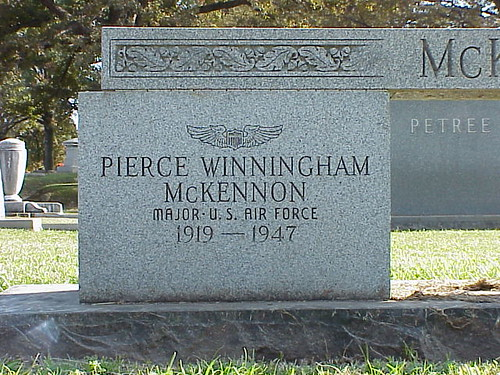 Major Pierce Winningham McKennon (1919-1947) - Arkansas' Boogie-Woogie Playing WWII Ace