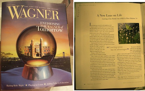 Wagner College Alumni Magazine Article