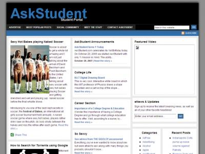 AskStudent Homepage