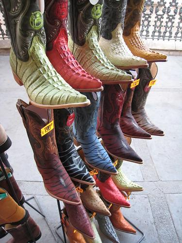 Snygga boots!