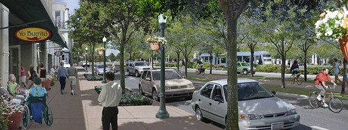 the same scene, re-imagined with smart growth