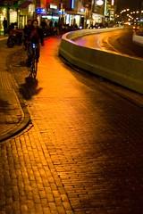 de donkere dagen / the dark days (beeldmark) Tags: city holland netherlands bicycle europa europe utrecht nederland avond stad fiets  vredenburg darkdays donkeredagen  beeldmark